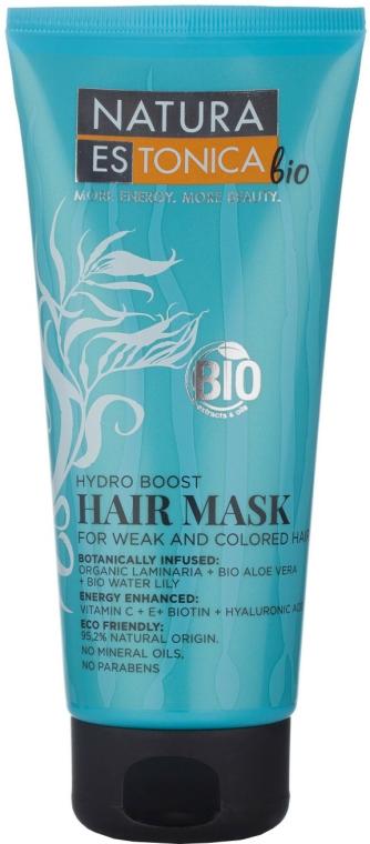 "Maska pro slabé a barvené vlasy ""Hydratační náboj"" - Natura Estonica Hydro Boost Hair Mask — foto N1"