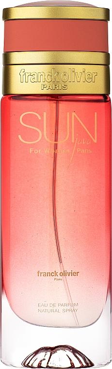 Franck Olivier Sun Java for Women - Parfémovaná voda — foto N1