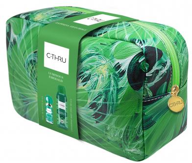 C-Thru Luminous Emerald - Sada (edt/30ml + deo/150ml + pounch)