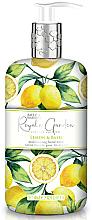 """Parfémy, Parfumerie, kosmetika Tekuté mýdlo na ruce """"Citron a bazalka"""" - Baylis & Harding"""
