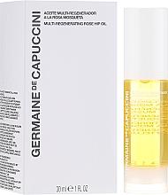 Parfémy, Parfumerie, kosmetika Multi regenerační růžový olej - Germaine de Capuccini Options Universe Multi Regenerating Rose Hip Oil