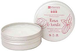 "Parfémy, Parfumerie, kosmetika Krém na ruce ""Růže a karite"" - La Saponaria Hand Cream Rose and Shea Butter"