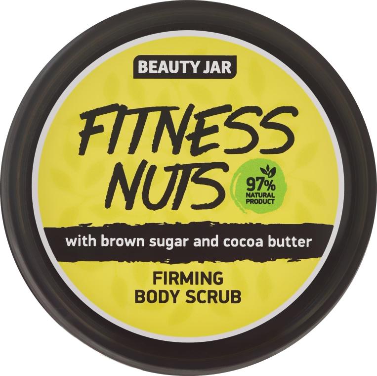 """Tělový peeling zpevňující """"Fitness Nuts"""" - Beauty Jar Firming Body Scrub — foto N2"""