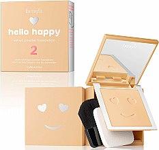 Parfémy, Parfumerie, kosmetika Pudrový tonální prostředek - Benefit Hello Happy Velvet Powder Foundation