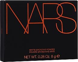 Parfémy, Parfumerie, kosmetika Matný bronzer na obličej - Nars Matte Bronzing Powder