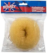 Parfémy, Parfumerie, kosmetika Vlasový váleček, 11x4.5 cm, béžový - Ronney Professional Hair Bun