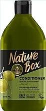 Parfémy, Parfumerie, kosmetika Kondicionér s olivovým olejem pro péči o dlouhé vlasy - Nature Box Conditioner Olive Oil