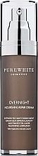 Parfémy, Parfumerie, kosmetika Bohatý noční pleťový krém - Pure White Cosmetics Overnight Nourishing Repair Cream