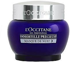 Parfémy, Parfumerie, kosmetika Noční pleťová maska - L'Occitane Immortelle Precieuse Overnight Mask