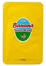 Parfémy, Parfumerie, kosmetika Výživná maska s extraktem z banánu a medu - A'Pieu Sweet Banana Sheet Mask