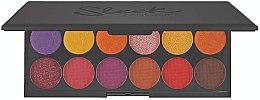 Parfémy, Parfumerie, kosmetika Paleta očních stínů - Sleek MakeUP iDivine Chasing The Sun Eyeshadow Palette
