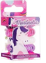 Parfémy, Parfumerie, kosmetika Gumičky do vlasů Jednorožec, 5ks - Martinelia