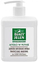 Parfémy, Parfumerie, kosmetika Hypoalergenní tekuté mýdlo - Bialy Jelen Hypoallergenic Soap