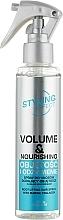"""Parfémy, Parfumerie, kosmetika Sprej na vlasy """"Objem a výživa"""" - Joanna Styling Effect Volume & Nourishing Hair Spray"""