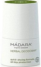 Parfémy, Parfumerie, kosmetika Bylinný a minerální deodorant - Madara Cosmetics Herbal Deodorant