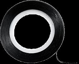 Parfémy, Parfumerie, kosmetika Dekorativní páska pro design nehtů, černá - Peggy Sage Decorative Nail Stickers Noir
