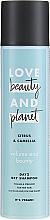 """Parfémy, Parfumerie, kosmetika Suchý šampon na tenké vlasy """"Citrus a Kamelia"""" - Love Beauty And Planet Citrus & Camellia Dry Shampoo"""