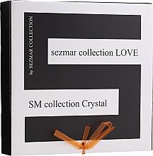 Parfémy, Parfumerie, kosmetika Sada - Sezmar Collection Love Crystal (sh/gel/250ml + massage/oil/100ml + b/lot/200ml)