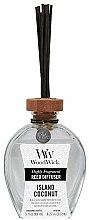 Parfémy, Parfumerie, kosmetika Aromadifuzér - WoodWick Reed Diffuser Island Coconut