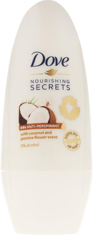 Kuličkový antiperspirant Kokos a jasmín - Dove Nourishing Secrets Restoring Ritual — foto N1
