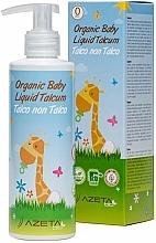 Parfémy, Parfumerie, kosmetika Organický dětský krém s tekutým mastkem - Azeta Bio Organic Baby Liquid Talcum