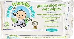 Parfémy, Parfumerie, kosmetika Dětské čistící ubrousky - Earth Friendly Baby Aloe Vera Wet Wipes