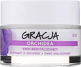 Parfémy, Parfumerie, kosmetika Revitalizující krém proti vráskám s extraktem z orchideje a kyselinou hyaluronovou - Gracja Orchid Revitalizing Anti-Wrinkle Day/Night Cream
