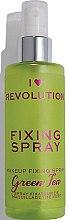 Parfémy, Parfumerie, kosmetika Fixační sprej na make-up - I Heart Revolution Fixing Spray Green Tea