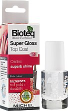 Parfémy, Parfumerie, kosmetika Závěrečný lesk Super Gloss - Bioteq Super Gloss Top Coat