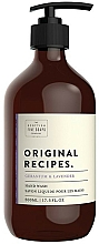 Parfémy, Parfumerie, kosmetika Tekuté mýdlo na ruce - Scottish Fine Soaps Original Recipes Geranium & Lavender Hand Wash