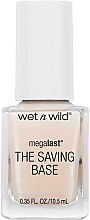 Parfémy, Parfumerie, kosmetika Báze a vrchní lak na nehty - Wet N Wild Megalast Fortifying The Saving Base Coat