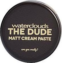 Parfémy, Parfumerie, kosmetika Matující krémová pasta na vlasy - Waterclouds The Dude Matt Cream Paste