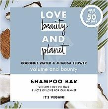 """Parfémy, Parfumerie, kosmetika Tuhý šampón pro objem vlasů """"Kokos a Mimosa"""" - Love Beauty And Planet Coconut & Mimosa Shampoo"""