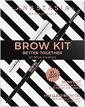 Parfémy, Parfumerie, kosmetika Sada - Anastasia Beverly Hills Better Together Brow Kit Soft Brown (pencil/0.08g + gel/2.5g)