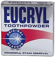 Parfémy, Parfumerie, kosmetika Zubní prášek - Eucryl Toothpowder Original