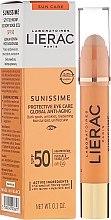Parfémy, Parfumerie, kosmetika Oční balzám - Lierac Sunissime Protective Eye Care Anti-Age Global SPF50
