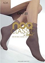 Parfémy, Parfumerie, kosmetika Dámské ponožky Ada 20 Den, beige - Knittex