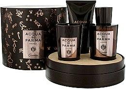Parfémy, Parfumerie, kosmetika Acqua di Parma Colonia Quercia - Sada (edc/100ml + candle/65g + sh/gel/75ml)