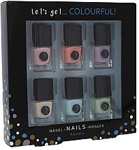 Parfémy, Parfumerie, kosmetika Sada - Cosmetic 2K Let's Get Colourful! Pastels Nail Polish (nail/laquer/6x5ml)