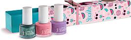 Parfémy, Parfumerie, kosmetika Sada dětských laků na nehty 3x7ml - Snails Mini Bebe Berry-Licious
