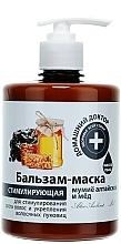 Parfémy, Parfumerie, kosmetika Balzám-maska Mumio Altajské a med - Domácí Lékař
