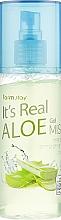 Parfémy, Parfumerie, kosmetika Gel-mist s extraktem z aloe - FarmStay It's Real Aloe Gel Mist
