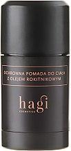 Parfémy, Parfumerie, kosmetika Tělový balzám s rakytníkovým olejem - Hagi