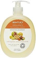 """Parfémy, Parfumerie, kosmetika Tekuté mýdlo na ruce """"Detox"""" - Bentley Organic Body Care Detoxifying Handwash"""