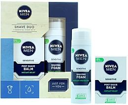 Parfémy, Parfumerie, kosmetika Sada - Nivea for Men Shave Master Gift Set (sh/foam/200ml+post/shave/balm/100ml)