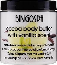 Parfémy, Parfumerie, kosmetika Kakao-olej na tělo, vanilka - BingoSpa