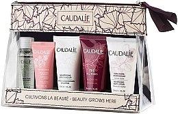 Parfémy, Parfumerie, kosmetika Sada - Caudalie Travel Set (water/30ml + cr/15ml + sh/30ml + sh/g/30ml + b/lot/30ml)