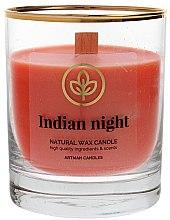 Parfémy, Parfumerie, kosmetika Dekorativní svíčka ve sklenici, 8x9,5cm - Artman Indian Night