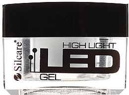 Parfémy, Parfumerie, kosmetika Gel na nehty, bílý - Silcare High Light LED White