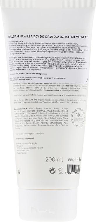 Hydratační balzám na tělo pro miminka - Naturativ Moisturising Body Balm For Infants and Babies — foto N2